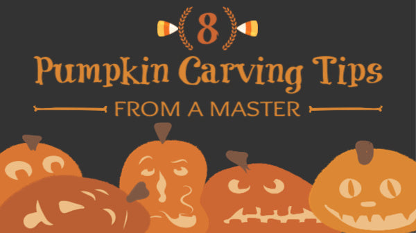 8 Tips & Tricks From A Halloween Pumpkin Carving Master