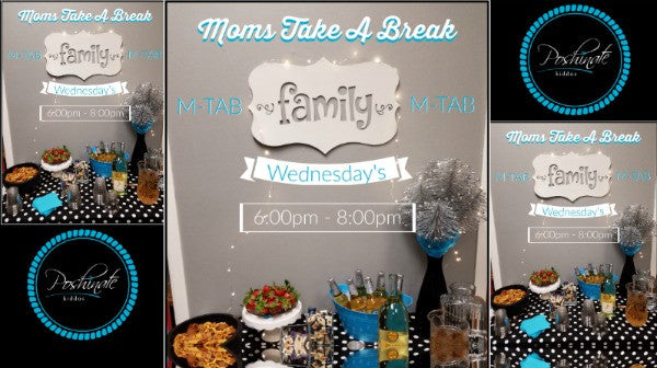 M-TAB @ PK | Moms-Take a Break @ Poshinate Kiddos