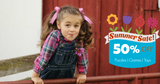 Summer Clearance | Back To School 50% OFF Sale