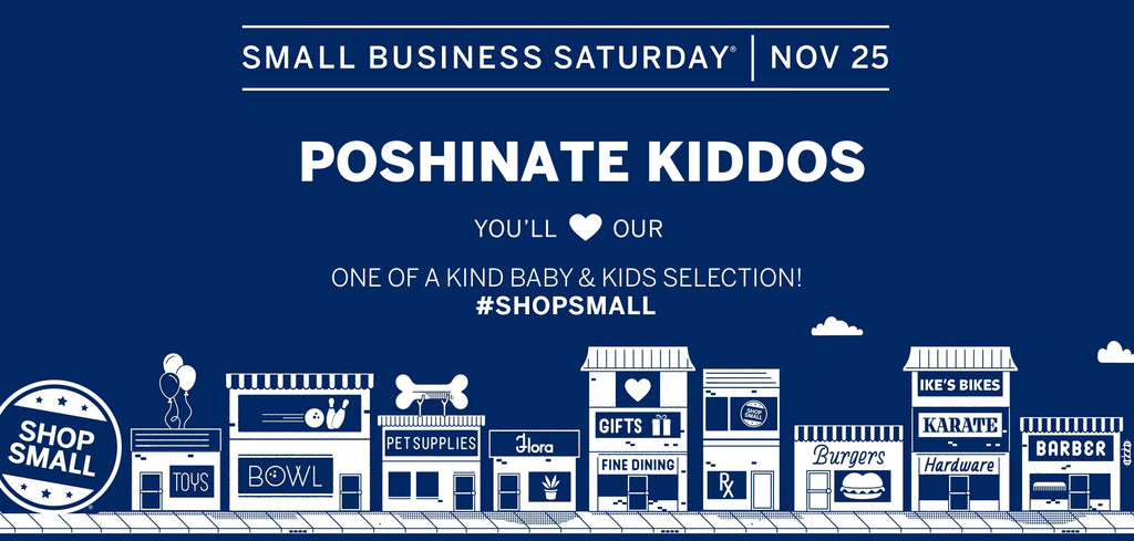 Poshinate Kiddos Baby & Kids Boutique | Small Business Saturday 2017 | St Peter Mn & Online