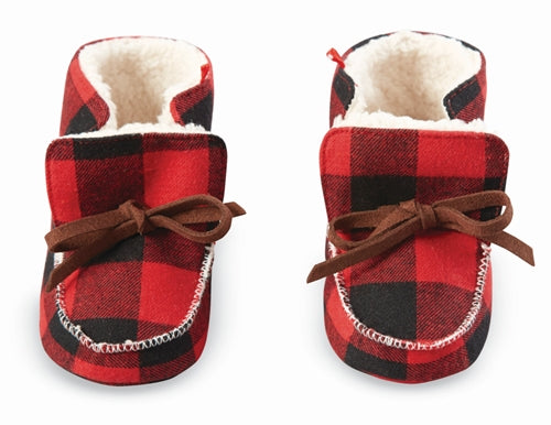 Baby Booties | Buffalo Plaid