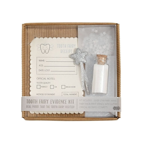 Tooth Fairy Evidence Kit | The Tooth Fairy Is Real - Tooth Fairy - Poshinate Kiddos Baby & Kids Boutique