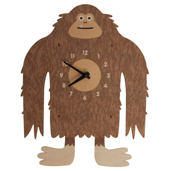Pendulum Clock | Bigfoot Yetti - Pendulum Clocks -Poshinate Kiddos Baby & Kids Boutique
