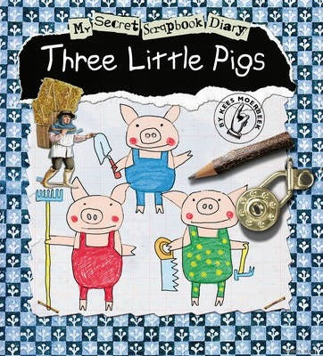 Kids Book | My Secret Scrapbook Diary | Three Little Pigs - Books & Activities - Poshinate Kiddos Baby & Kids Products - unique scrapbook style