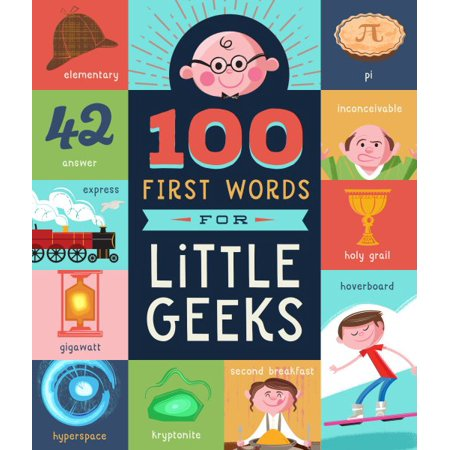 Kids Book | 100 First Words for Little Geeks