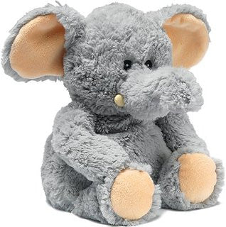 Heatable Stuffed Animal | Elephant - Heatable Plush Toys - - Poshinate Kiddos
