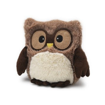 Heatable Stuffed Animal | Hootie Owl | Brown - Heatable Plush Toys -  - Poshinate Kiddos