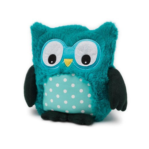 Heatable Stuffed Animal | Hootie Owl |Teal - Heatable Plush Toys - - Poshinate Kiddos