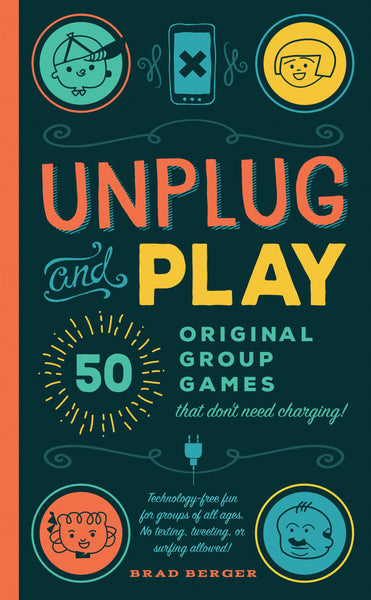Parents Book | Unplug and Play - Books and Activities - Poshinate Kiddos Baby & Kids Gifts - cover of original group game book