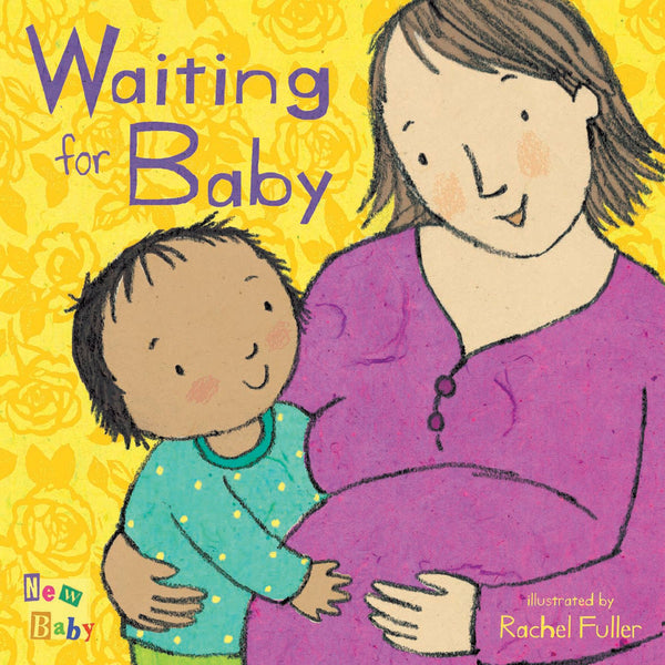 Kids Book | Waiting for Baby - Books and Activities - Poshinate Kiddos Baby & Kids Boutique - great sibling to be book