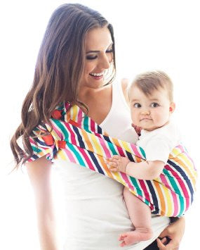Baby Carrier | Multi stripe - Baby Carriers - - Poshinate Kiddos