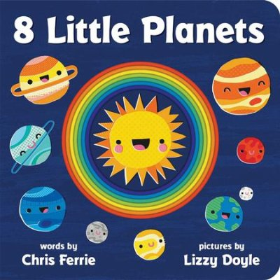Kids Book | 8 Little Planets - Books & Activities - Kids Books - Poshinate Kiddos Baby & Kids Store