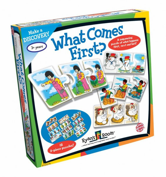 Sequencing Game/Puzzle | What Comes First - Puzzles, Games & Toys -  - Poshinate Kiddos