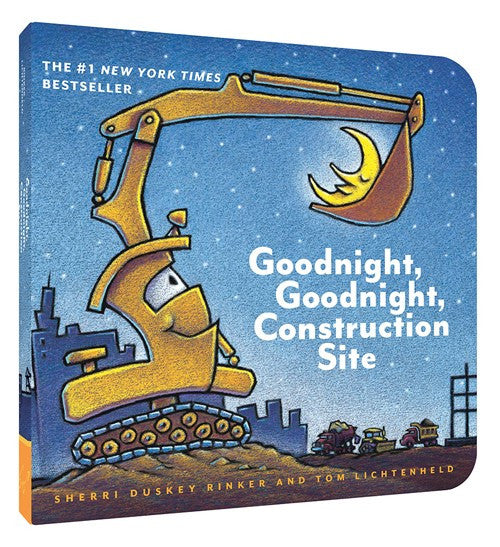 Goodnight, Goodnight Construction Site | Board Book - Books and Activities - Poshinate Kiddos