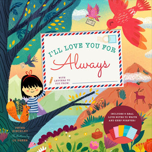 Kids Book | I'll Love You for Always - Books and Activities - Poshinate Kiddos Baby & Kids Gifts - handwritten love letters in book