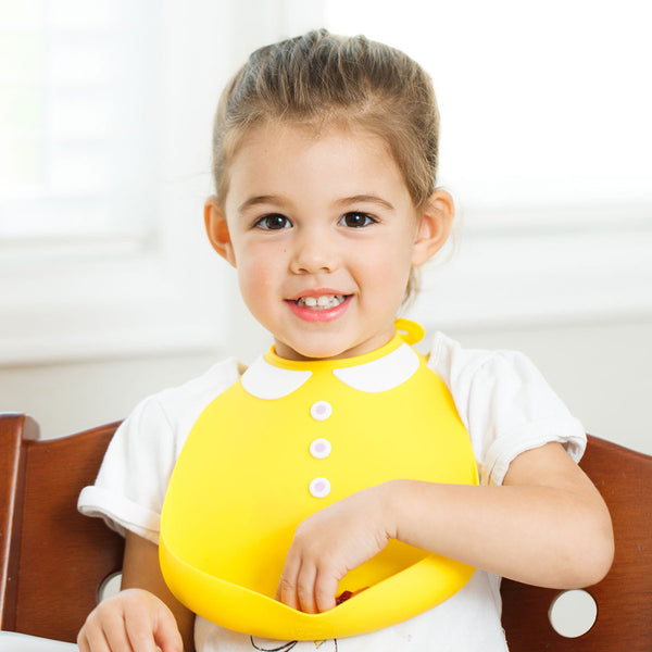 Baby Bib | Never Grow Up - Baby Bibs - - Poshinate Kiddos