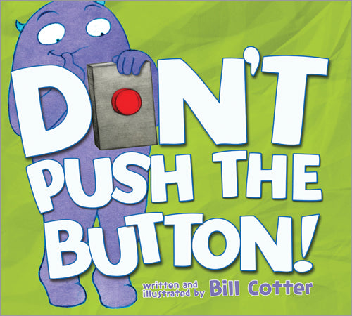 Kids Book | Dont Push the Button! | Books and Activities | Poshinate Kiddos Baby & Kids Boutique