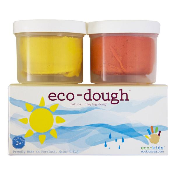 Kids Eco Dough | Natural Play Dough | 2 Pack - Books and Activities - Poshinate Kiddos Baby & Kids Boutique - 2 pack shown with box