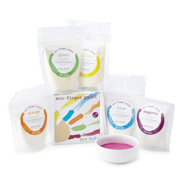 Kids Eco Finger Paint | Natural Finger Paint | 5 Pack