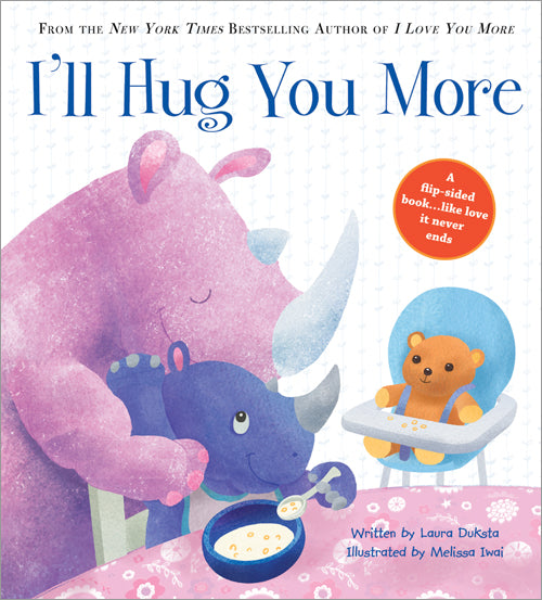 Kids Book | I'll Hug You More - Books & Activities - Poshinate Kiddos Baby & Kids Gifts - new baby or parent gift