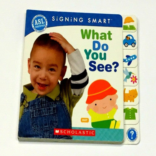 Baby Sign Language Book | What Do You See - Books and Activities - - Poshinate Kiddos