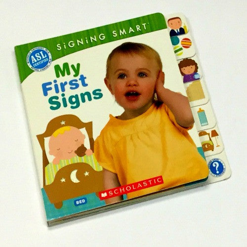 Baby Sign Language Book | Signing Smart - Books and Activities - - Poshinate Kiddos