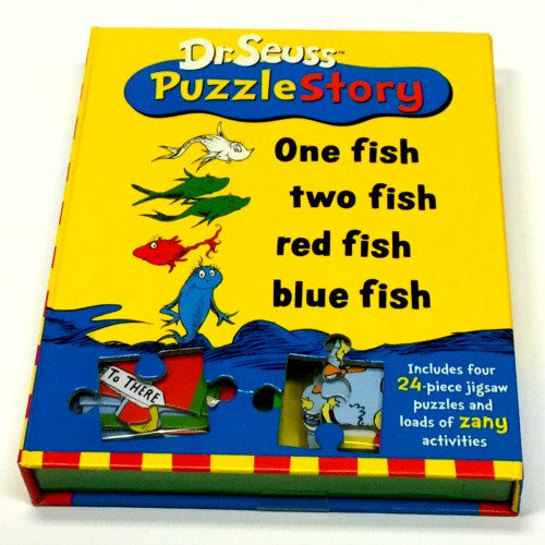 Dr. Suess Puzzle Story | One Fish Two Fish - Puzzles, Games & Toys - Poshinate Kiddos