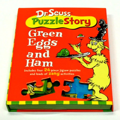 Dr. Suess Puzzle Story | Green Eggs and Ham - Puzzles, Games & Toys - Poshinate Kiddos
