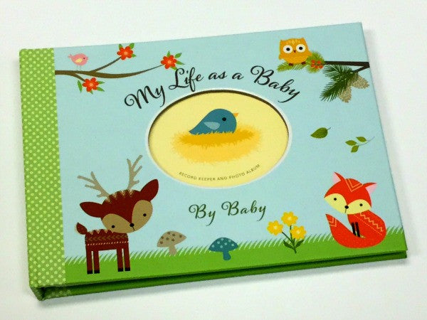 Baby Book | Baby's First Year | Woodland Friends