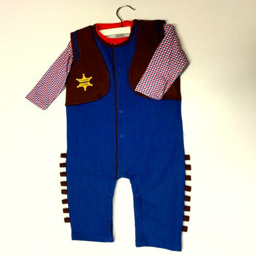 Children's Cowboy Outfit - Dress up/Halloween - Poshinate Kiddos