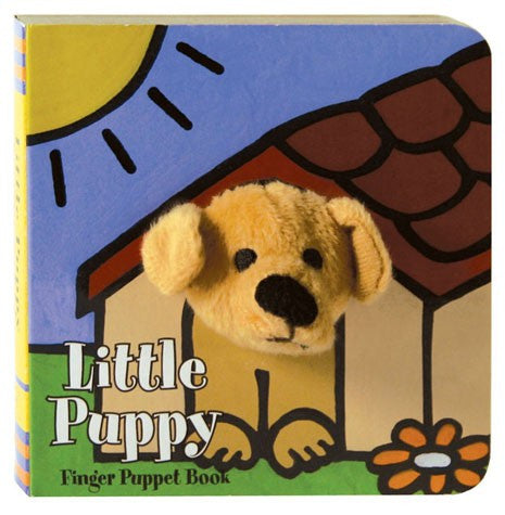 Finger Puppet Book | Little Puppy - Books and Activities - - Poshinate Kiddos