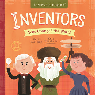 Kids Book | Inventors Who Changed the World - Books and Activities - Poshinate Kiddos Baby & Kids Store - Front of book
