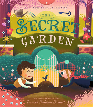 Kids Book | The Secret Garden - Books and Activities - Poshinate Kiddos Baby & Kids Boutique - interactive fun in a classic story