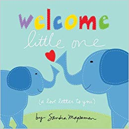 Kids Book | Welcome Little One -Books and Activities - Poshinate Kiddos Baby & Kids Boutique - front cover