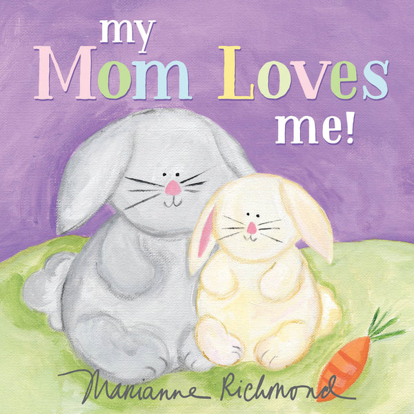 Kids Book | My Mom Loves Me! - Books and Activities - Poshinate Kiddos Baby & Kids Boutique - mom loves front cover