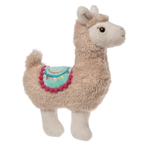Baby Toy | Soft Rattle | Llama - Baby Toys - Poshinate Kiddos Baby & Kids Boutique - Llama soft and safe plush rattle