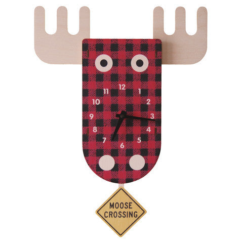 Pendulum Clock | Moose - Pendulum Clocks - - Poshinate Kiddos