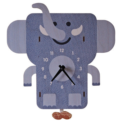 Pendulum Clock | Elephant - Pendulum Clocks -  - Poshinate Kiddos