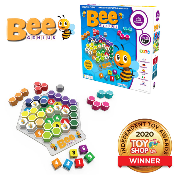 Kids Puzzle Game | Bee Genius - Puzzles Games & Toys - Poshinate Kiddos Baby & Kids Boutique - shows box