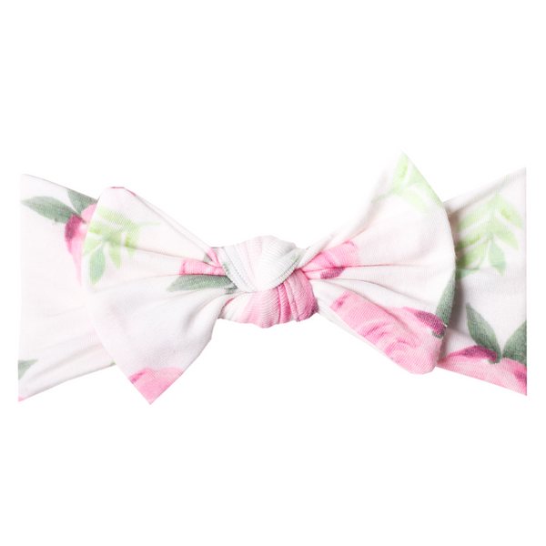 Baby Headband Bow | Vintage Flower - Accessories - Poshinate Kiddos Baby & Kids Store - bow alone