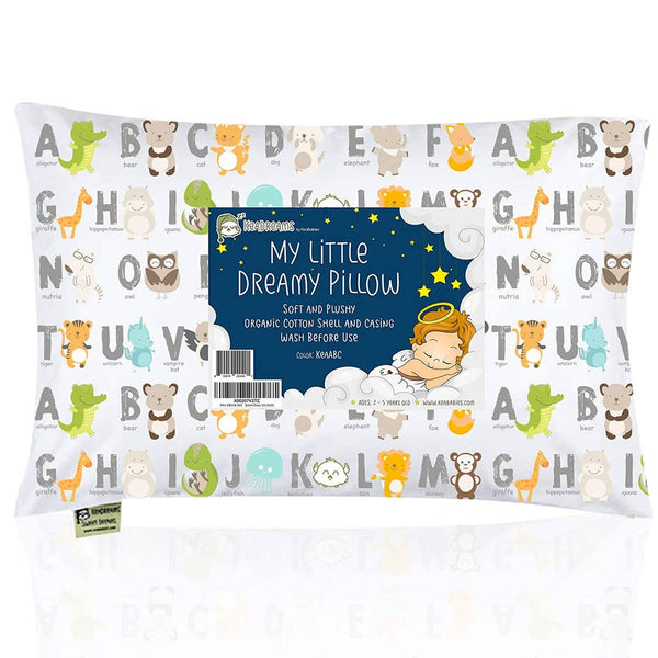 Kids Pillow | ABC - Kids Pillow - Poshinate Kiddos Baby & Kids Store - front of pillow