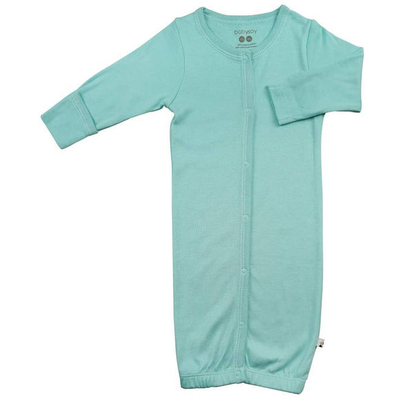 Baby Gown | Light Teal