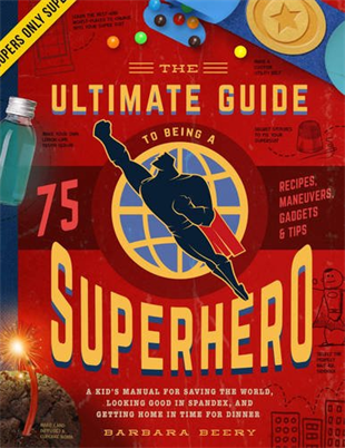 Kids Book | The Ultimate Guide to Being a Superhero - Books & Activities - Poshinate Kiddos Baby & Kids Store - Front of book