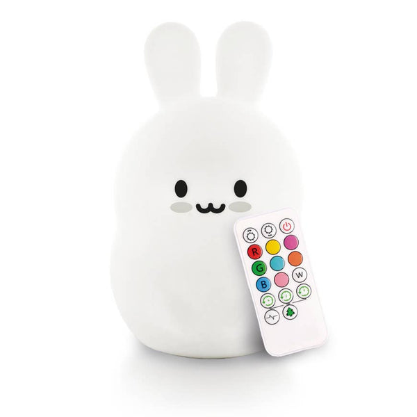 Kids Night Light | Bunny - Kids Toys - Poshinate Kiddos Baby & Kids Store - light with remote