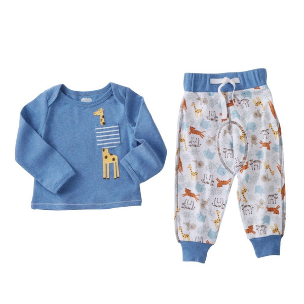 Baby Outfit | Boys & Girls | Giraffe & Wild Animal
