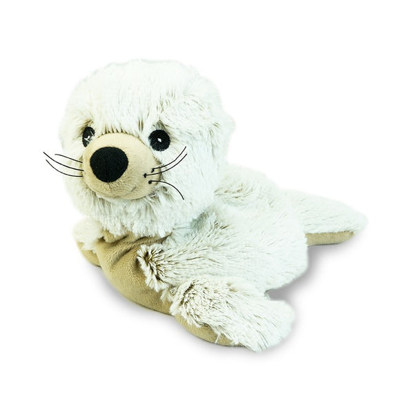 Heatable Stuffed Animal | Seal - Stuffed Animals - Poshinate Kiddos - Animal Toys