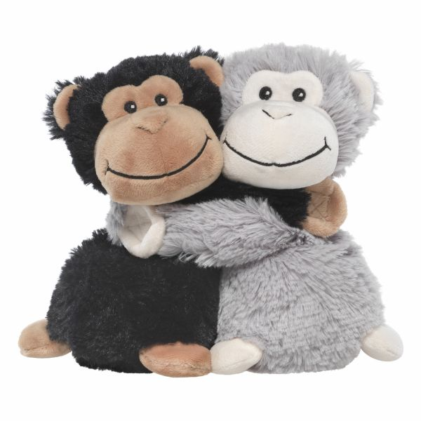 Heatable Stuffed Animal Friends | Monkeys | Set of 2