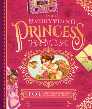 KIds Book | The Everything Princess Book - Books & Activities - Poshinate Kiddos Baby & Kids Boutique - front of book