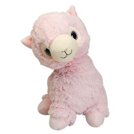 Heatable Stuffed Animal | Llama | Pink | Poshinate Kiddos Baby & Kid Store