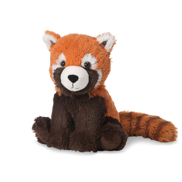 Heatable Stuffed Animal | Red Panda - Heatable Plush Toys - Poshinate Kiddos Baby & Kids Store - sitting up with tail